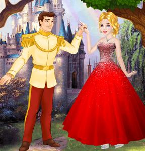 Cinderella Ball Dress Up