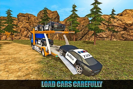 Offroad Police Transport
