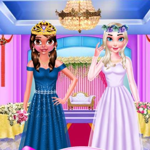 Twin Sisters Wedding